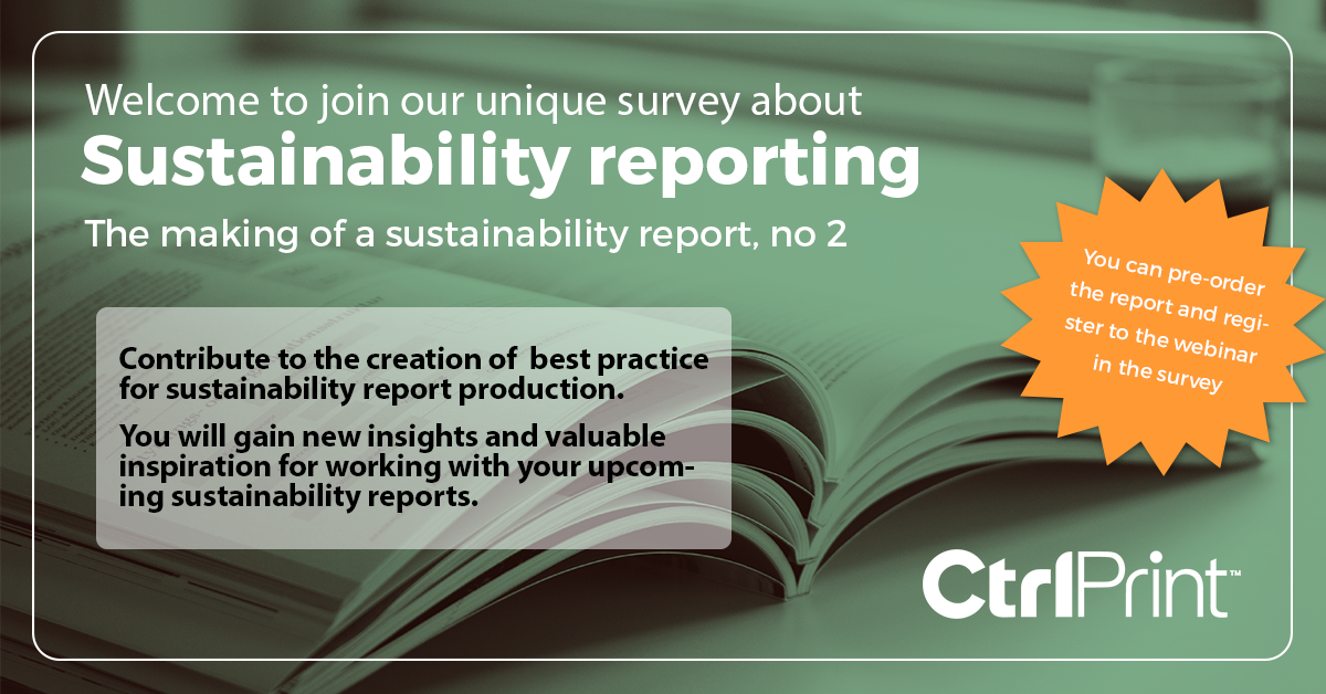The making of a sustainability report, no 2