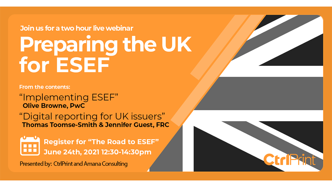 Getting the UK prepared for ESEF